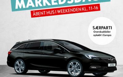 Markedsdage hos Opel