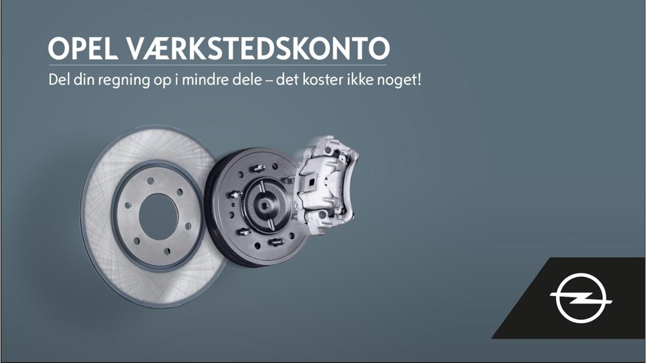 Opel Værkstedskonto
